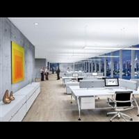 南通办公空间装修设计室内陈设的种类