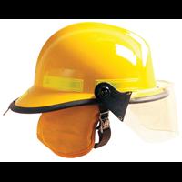 MSA梅思安消防头盔热绝缘抗冲击头部防护F3