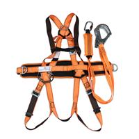 代尔塔506102全身五点式攀岩消防救援安全带