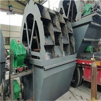 日照風化砂洗砂生產線工作流程水力洗砂機定制