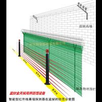 陽光天網監獄周界預警防范設備紅外線幕墻