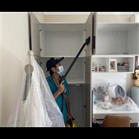 美鑫国际物流城除甲醛除装修污染施工现场