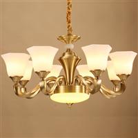 全铜灯全铜吊灯欧式铜灯纯铜灯具