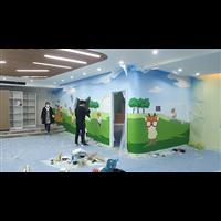 七彩空间墙绘壁画纯手工绘制培训
