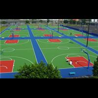 遼陽籃球場施工