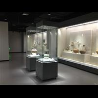 供应惠州隆城博物馆陈列沿墙柜展示柜独立柜博物馆展柜