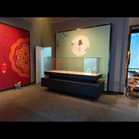 博物馆展示柜定制博物馆玉器古玩翡翠饰品柜台烤漆