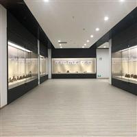 展馆独立玻璃展示柜古董展示博物馆展柜定做古玩展示柜立柜展台