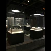 样品展示柜珠宝首饰玻璃展示柜台玉器展柜博物馆文物展览展会柜台