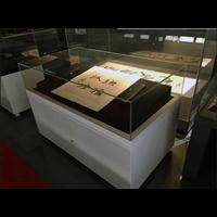 博物馆古玩展示柜古董文物文玩精品烤漆玻璃柜独立柜展馆收藏柜