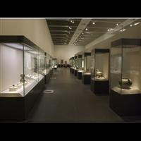 定制珠宝展示柜台玉器展柜玻璃柜子透明博物馆文物陈列柜单品展览