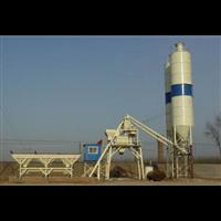 新疆双龙JS750混凝土搅拌站