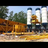 新疆双龙HZS60混凝土搅拌站