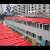 東明縣雙層活動房菏澤防火巖棉彩鋼房拆卸方便