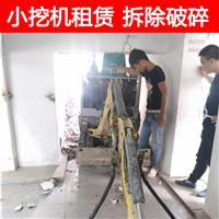 宁波小挖机租赁