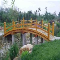吕梁防腐木木桥安装