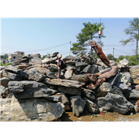广东天然太湖石自然原石假山驳岸造景