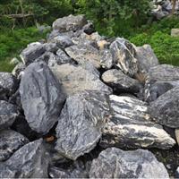 广东哪里有黑山石出售园林景观石厂家黑山石批发