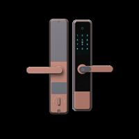 半自动智能锁深圳好新优B1智能锁C级锁芯智能锁