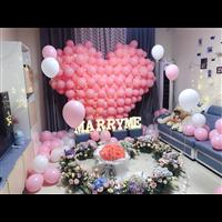 气球婚宴布置