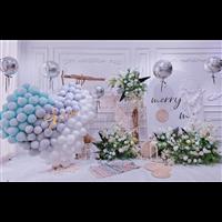 气球求婚装饰