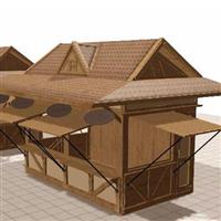库尔勒防腐木屋工程