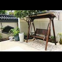 库尔勒防腐木座椅