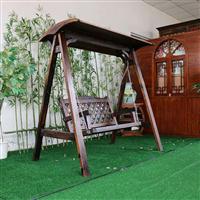 阿勒泰防腐木桌椅