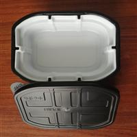 厂家直供食品包装塑料盒自加热米饭盒自热火锅盒自热冒菜盒