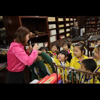 小白鸽幼儿园我爱阅读山东书城研学活动
