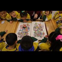 历城小白鸽幼儿园我爱阅读山东书城研学活动