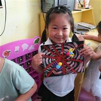 济南小白鸽幼儿园创意手工课
