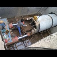 龙岗煤气管顶管