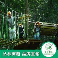 历奇探险丛林穿梭户外游乐设备研学拓展专业设计安装