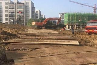 汉南铺路钢板租赁