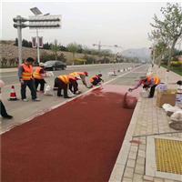新疆陶瓷顆粒防滑路面