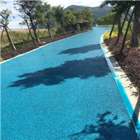 上海彩色透水地坪公司