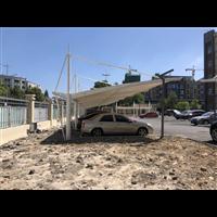 福建三明膜结构车棚