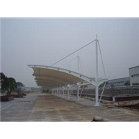 三明永安膜结构车棚工程