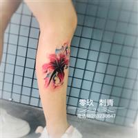 内江女士纹身2358