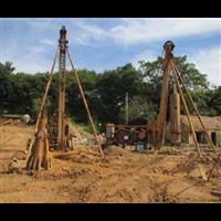 中山百米钻井施工队百米钻井工程
