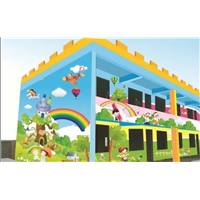 石家庄幼儿园手绘