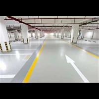 济南停车场固化地坪
