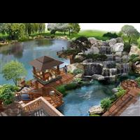 宜春假山鱼池制作a南昌假山鱼池施工