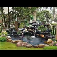 黔西假山鱼池制作d六盘水假山鱼池施工