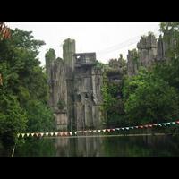 贵州假山q贵州假山施工队q贵州塑石假山
