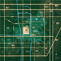 上海佘山原墅区位图