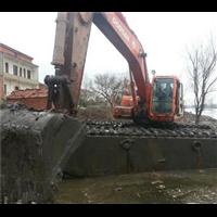 广州租赁水陆两栖挖机