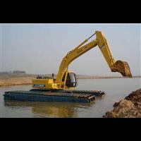 租赁水陆两栖挖掘机