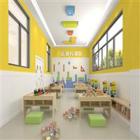 揭阳幼儿园装修设计